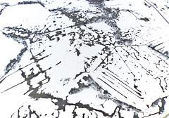 Karst field in the snow (kap_jasa) Tags: kiteaerialphotography kite flying winter ice snow water field trees nature karst patterns abstract art white canon delta planina slovenia