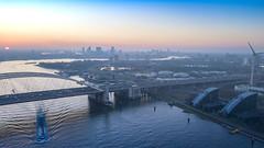 DJI_0304-HDR Bkl (keesoosterwijk) Tags: mavic mavicpro drone dronephotography hdr hdrphotography rotterdam roffa 010 brienenoord brienenoordbrug mavicdrone maas sunset sky droneshot