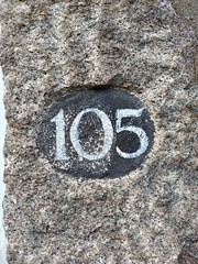 105 (Bobfantastic) Tags: aberdeen scotland uk city urban granite numbers paint font texture decay historical preservation