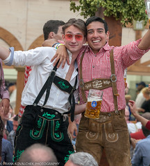 I think some alcohol is involved (Alaskan Dude) Tags: travel germany europe bavaria munich munchen oktoberfest beer art people portraits costumes fun
