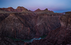 Umbra. (mycoremke) Tags: canyon coloradoriver grandcanyon arizona twilight dusk earthshadow rocks coloradoplateau
