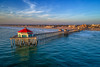 Golden Hour in Surf City USA (Roving Vagabond aka Bryan) Tags: huntintonbeach huntington california ca pier ocean seaside landscape water socal drone dji sea sky explore surfcityusa oc orangecounty pacific usa clouds sunset goldenhour surfcity seascape