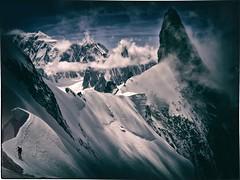 DSC02215yud (Cath'art Photography) Tags: alpinisme alpinism alpinismo climing climber massif top montagne mountain glacier summit sommet chamonix ice sportif