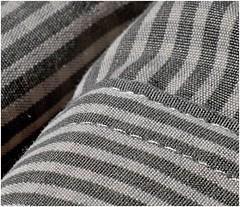Shades of Grey (jesse1dog) Tags: monochrome russian gm1 shirt pattern stripes texture thread sewing jupiter9 macromonday extensiontube shadesofgrey grey sleeve crisscross