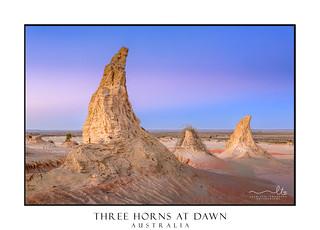 Three Horns at Dawn
