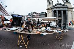 Fisheye candid @ Waterlooplein (Amsterdam) (PaulHoo) Tags: amsterdam city urban 2018 fisheye 8mm samyang creative citylife people candid streetphotography waterlooplein secondhand market church
