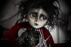 Edward (Ma✰D (parker) - Dolls, Customisation & The Cat) Tags: timburton taeyang ooak customisation poupée edwardscissorhands gothic gothique doll