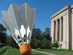Missouri (US Department of State) Tags: badminton birdie sculpture nelsonatkins museum art kansas city missouri