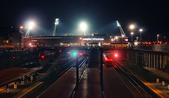 Yay! (Peter Kurdulija) Tags: new zealand wellington football club stadium railway station night photography lights phoenix westpac city urban kurdulija