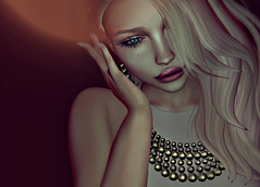 Whispers (Chelsea Chaplynski ( Amity77 inworld)) Tags: chelsea avenge entwined euphoric huwe treschic balls necklace earrings jewellery