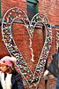 Love locks (jeandoucet9656) Tags: toronto ontario canada distillerydistrict love heart wall mural padlocks