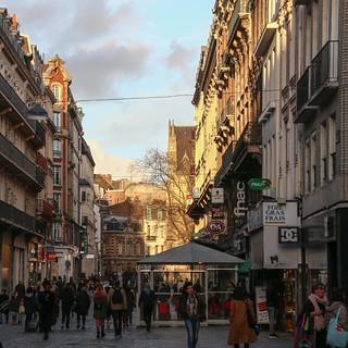 Lille street scene