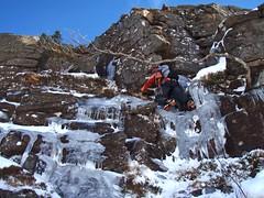 Cranberry Rocks (Mrs Butterbur) Tags: cairngorms winter scotland snow nationalpark ice climbing icicle granite rock