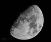 Moon 25th Febuary 2018 69% Illuminated Waxing Gibbous (John Woodward Photography) Tags: moon waxinggibbous lunar llenses canon canondslr canoneos canonllenses canon5dmarkiv