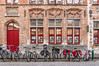 HWW! (deborahb0cch1) Tags: bike bikes bicycle window windows red redwindow door reddoor brick building house brickhouse sidewalk bruges brugge