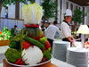 Vege tower (Roving I) Tags: buffets events vegetables displays plates chefs catering conventioncentres food furama resorts ariyana danang vietnam