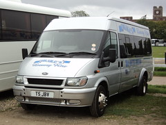 Brailo`s Taxis of Nottingham T5JBV (yorkcoach2) Tags: york nottingham langleymill brailostaxis fordtransit ford t5jbv races racecourse raceday