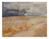 Rising tides and falling rains (AJ Mitchell) Tags: lindisfarne storm artwork painting silt tide ripple reflection ajmitchell holyisland northumberland britishisles naturalpigments