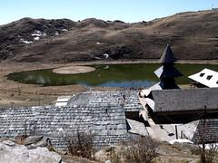 Rishi Parasar Lake near Mandi, Himachal- 353 (Soubhagya Laxmi) Tags: himachaltourismhptdc himalayanmountainhindureligion hindupilgrimagetemplehimalay mandihimachalpradesh mandisightseeing parasartemplelakemandi rishiparasarlakemandi rishiparashartempleandlake soubhagyalaxmimishra umakantmishra rishi parasar lake mandi himachal