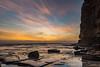 Sunrise Seascape (Merrillie) Tags: daybreak theskillion nature water terrigal nsw rocky sea clouds newsouthwales rocks earlymorning morning landscape centralcoast ocean australia sunrise waterscape coastal outdoors sky seascape dawn coast cloudy waves