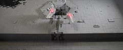 Great Shot Kid, That Was One in a Million (dzambito42) Tags: lego starwars deathstar trench photontorpedoes itsaway