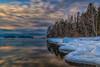 Iced Shore Lauttasaari (Topolino70) Tags: canon600d shore beach ice snow winter reflection island tree sea lauttasaari helsinki finland