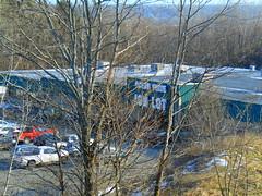 Ocean State Job Lot (Holyoke, Massachusetts) (jjbers) Tags: holyoke shopping center massachusetts january 21 2018 plaza trees ocean state job lot green winter