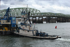 STACY T (Chuck Stephens) Tags: tug tugs tugboat tugboats workboats columbiarivertugs vancouverwashington theothervancouver columbiariver stacyt jtmarine dbtaylor barge barges
