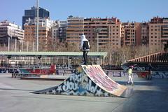 Skateboard Zaragoza (joseange) Tags: skateboard zaragoza lomo lente rusa t43 lomot43