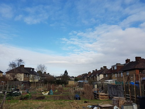 Allotments on the Becontree Estate