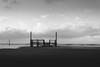 waterfront   l   2017 (weddelbrooklyn) Tags: horizon nordsee sanktpeterording spo einfarbig schwarzweiss strand wasser wind wetter horizont schleswigholstein wolken dunkel silhouette landschaft nikon d5200 streetfotografie northsea monochrome blackandwhite beach water clouds dark silhouettes landscapes streetphotography weather