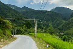Bambusový zavlažovací systém (zcesty) Tags: vodopád vietnam22 silnice krajina hory vietnam dosvěta hàgiang vn