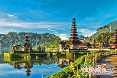 Bali (lthuong2608) Tags: đảo núi island nước cây water tree mây trời sky đềnthờ nhà rừng