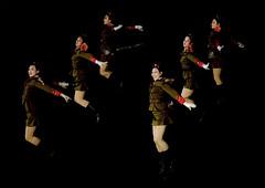 Sexy North Korean women dressed as soldiers dancing with swords during the Arirang mass games in may day stadium, Pyongan Province, Pyongyang, North Korea (Eric Lafforgue) Tags: al2098 2024years arirang army asia asian asianethnicity beautifulpeople celebrationevent choregraphy communism darkbackground dictatorship dprk event festival groupofpeople horizontal jumping largegroupofpeople massgames massmouvement military night northkorea northkorean onlywomen patriotism peopleinarow performance propaganda pyongyang rungrado show soldiers togetherness traveldestinations uniform womenonly youngwomen pyonganprovince 北朝鮮 북한 朝鮮民主主義人民共和国 조선 coreadelnorte coréedunord coréiadonorte coreiadonorte 조선민주주의인민공화국 เกาหลีเหนือ קוריאההצפונית koreapółnocna koreautara kuzeykore nordkorea північнакорея севернакореја севернакорея severníkorea βόρειακορέα