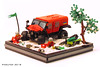 Ghe-O Rescue (Pixel Fox) Tags: gheo rescue lego diorama vignette moc 4x4 offroad
