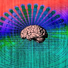 Digital Brain (sirhowardlee) Tags: brain technology hitech cyberpunk binarydigits