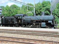 B3/4 1367 CFF Historic 5 (jean-daniel david) Tags: train vapeur suisse suisseromande vaud rails chemindefer locomotive fumée transport arbre forêt ciel cossonay gare quai