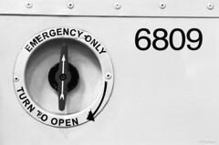 6809 (pfh2010) Tags: film blackwhite 35mm contax contaxn1 bury transport museum ilford panf