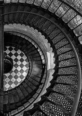 Spiral down (Deb Felmey) Tags: lighthouse spiral stairs metal currituck northcarolina outerbanks