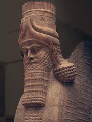 Lamassu - Mesopotamia (Christopher Pratap) Tags: muséedulouvre ancientsculpture artifactporn mesopotamia lamassu