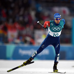 PYEONGCHANG 2018 - NORDIC COMBINED - MEN'S CROSS-COUNTRY SKIING 10KM (France Olympique) Tags: 10km 2018 combined coree crosscountry final finale fond games individual jeux jeuxolympiques jo korea laheurtemaxime men nordic olympic olympicgames olympics olympiques pyeongchang ski skiing south sport sud winter coréedusud