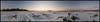 Storsand 360° panorama (Jonas Thomén) Tags: panorama 360° storsand fäboda snow snö sunset solnedgång stenar rocks tracks spår skog forest beach strand shore coast island ö horizon horisont träd trees evening kväll sea hav havet ice is