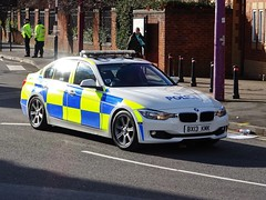 West Midlands Police BMW 330d Traffic Car (OPS35) BX13 KMK, Birmingham. (Vinnyman1) Tags: west midlands police bmw 330d traffic car ops35 ops bx13 kmk operations wmp rpu roads policing unit road crime anpr automatic number plate recognition cctv closed circuit television enabled 20 emergency services service rescue 999 chelmsley wood station solihull birmingham england uk united kingdom gb great britain the championship second derby avfc aston villa football club villains park bcfc blues zulu warriors youth hardcore steamers ccrew