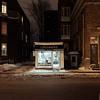 Cordonnerie de quartier (Nicolas Bussieres (Lost Geckos)) Tags: quebec city ville night cordonnerie quartier shoe repair