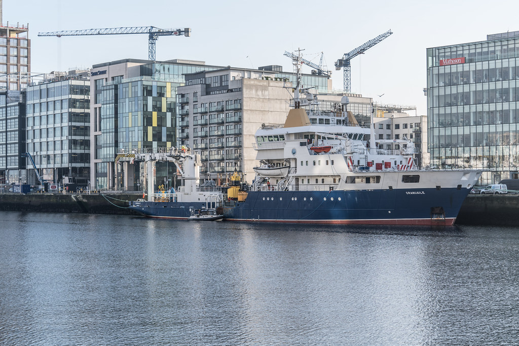 ILV GRANUAILE VISITS DUBLIN [11 JANUARY 2018]-135374