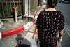 * (Sakulchai Sikitikul) Tags: street snap streetphotography songkhla sony a7s voigtlander 28mm red tshirt lipstick