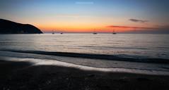 The best show (LeonardoMazzoni) Tags: sunset sea seascape seashore sunsetphotography beach beautyinnature bestshotz landscape longexposure canon tuscany toscana italianplace italy baratti