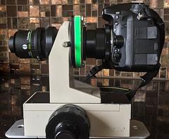 Vignetting test (Saul G.) Tags: macro macrophotography micro focus stacking stack setup gear diy