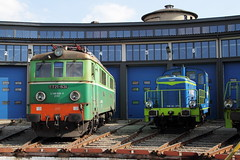 Nowy Sacz PKP  |  2013 (keithwilde152) Tags: et21631 nowy sacz pkp cargo poland 2013 depot roundhouse buildings architecture electric diesel locomotives autumn