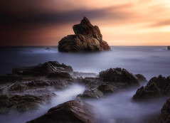 Another worlds (Anto Camacho) Tags: rocks seascape landscape bigstopper nature lloret cataluña spain foam sky light shadows